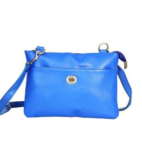Coach Madison Swingpack Small Blue Crossbody Bags DPS