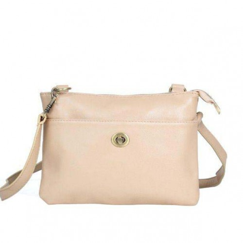 Coach Madison Swingpack Small Ivory Crossbody Bags DPT