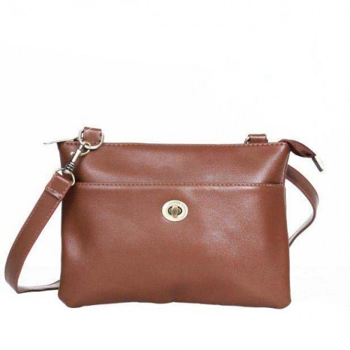 Coach Madison Swingpack Small Brown Crossbody Bags DPU
