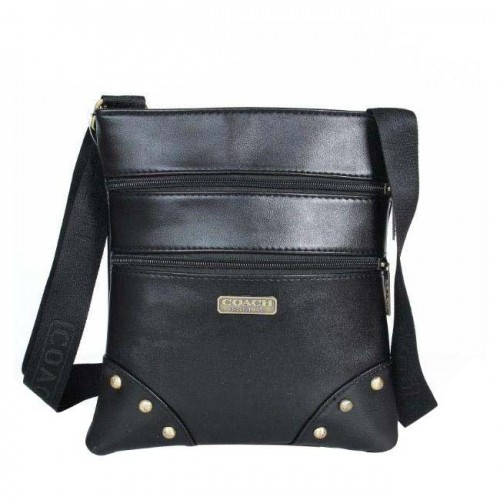Coach North South Small Black Crossbody Bags DPV