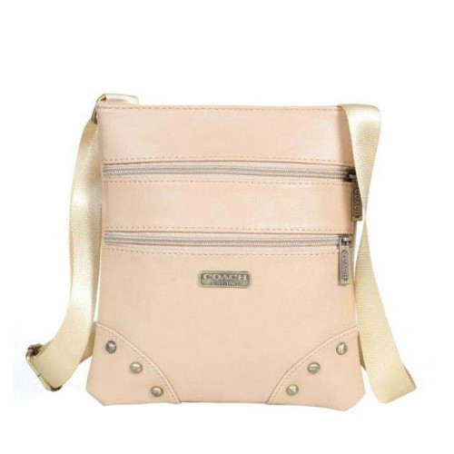 Coach North South Small Ivory Crossbody Bags DPX