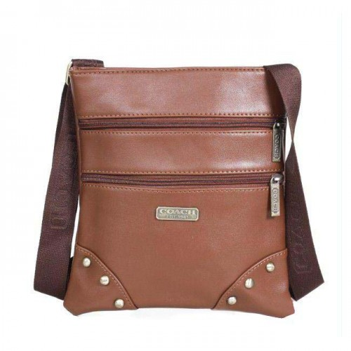 Coach North South Small Brown Crossbody Bags DPY