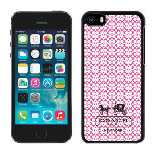 Coach In Confetti Signature Pink iPhone 5C Cases DRI
