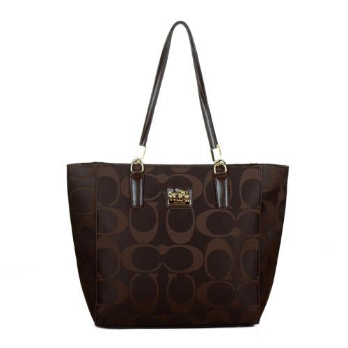 Coach Madison East West Small Coffee Totes EAH