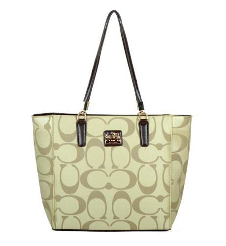 Coach Madison East West Small Apricot Totes EAK